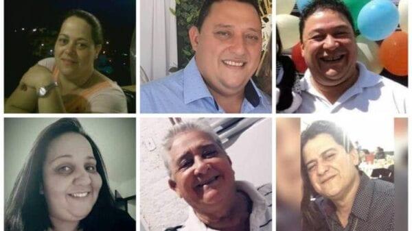 Pai e cinco filhos da família Almeida morreram vítimas da Covid-19(Foto: Reprodução, Redes Sociais)